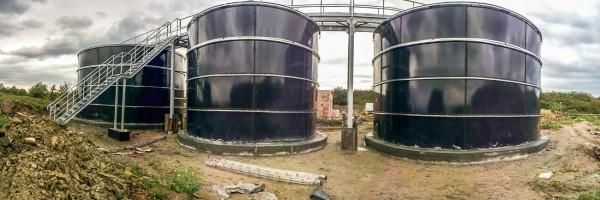 Резервуари з емальованим покриттям