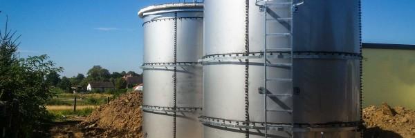 Резервуари з нержавіючої сталі